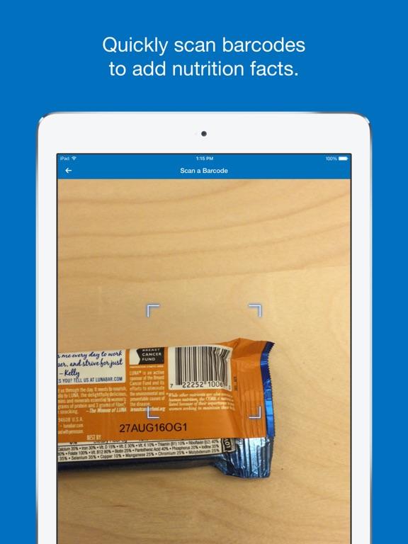MyFitnessPal iPad
