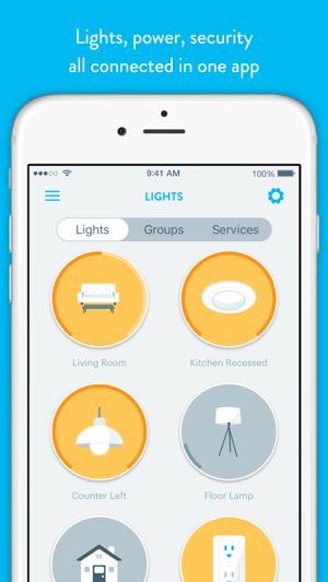 wink smart home on the app store. Black Bedroom Furniture Sets. Home Design Ideas