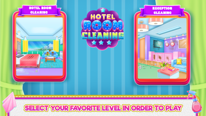 Hotel Room Cleaning Screenshot