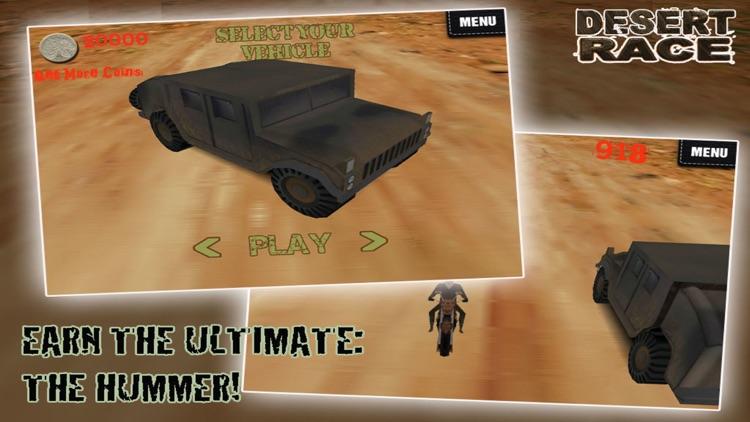 Desert Race 3D - Blood Brother screenshot-3