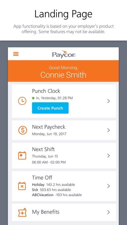 Paycor Mobile
