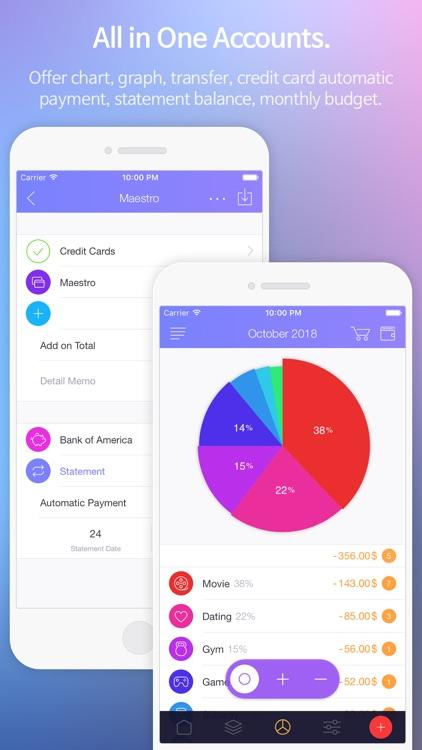 Spendy - Money Book screenshot-3