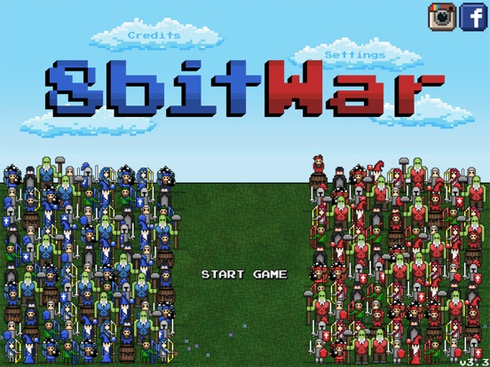 Screenshot #1 for 8bitWar: Origins