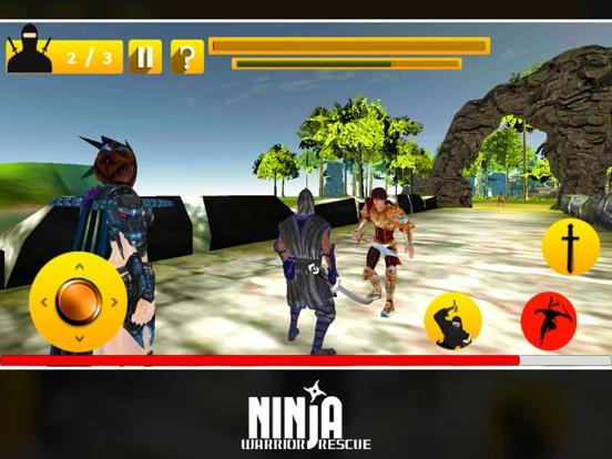 Ninja Warrior Rescue screenshot 8