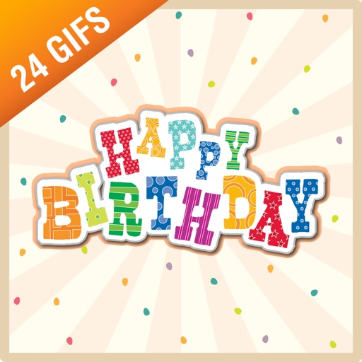 Happy Birthday iSticker