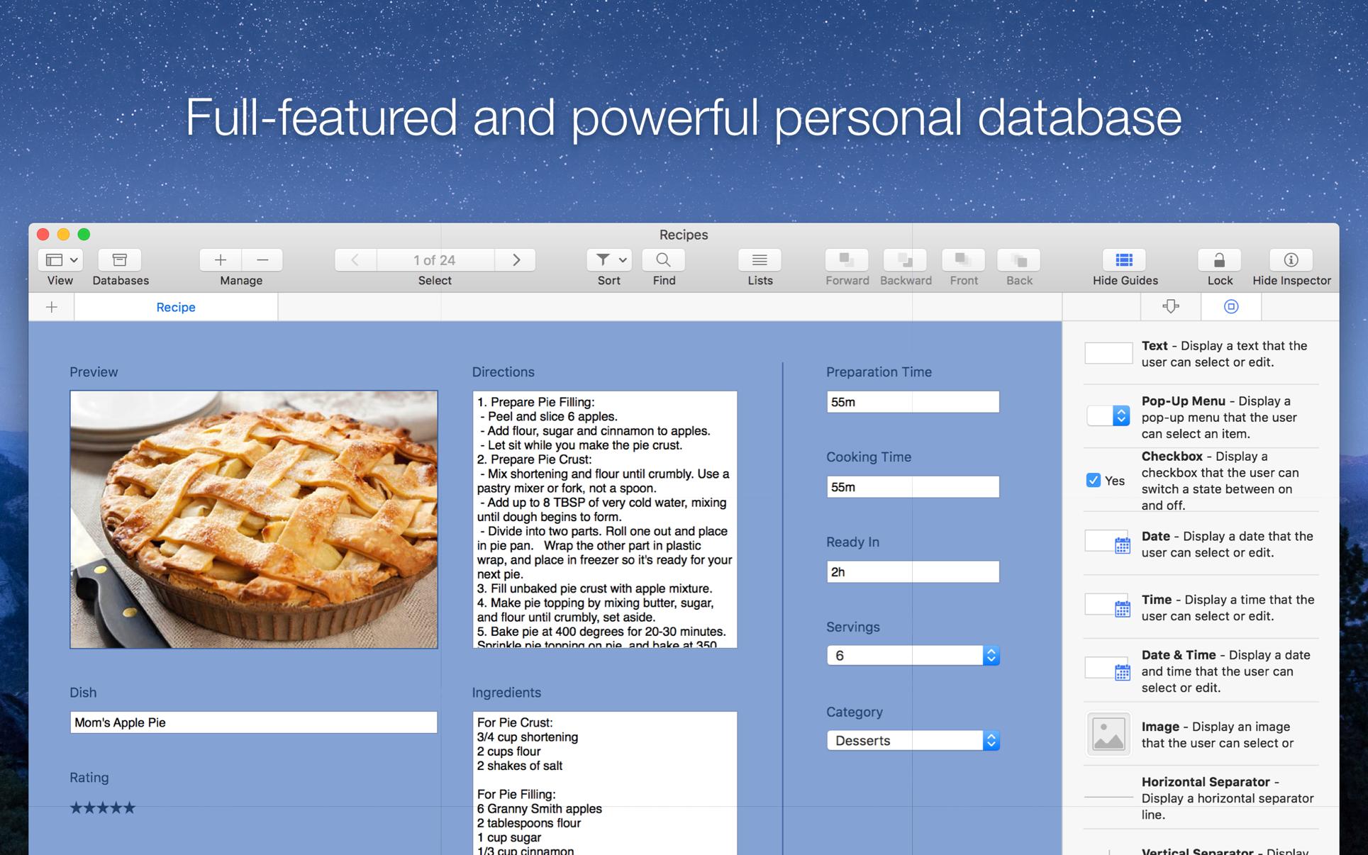 Records Mac 破解版 Mac上优秀的个人信息数据库-麦氪搜(iMacso.com)