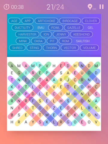 Word Search Pro‧ screenshot 4