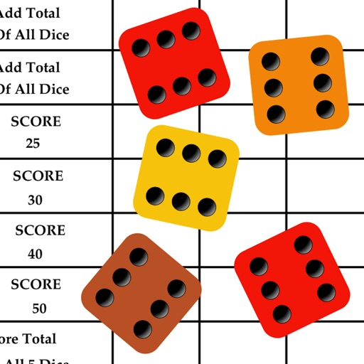 YZ Score - YAHTZEE® scoresheet