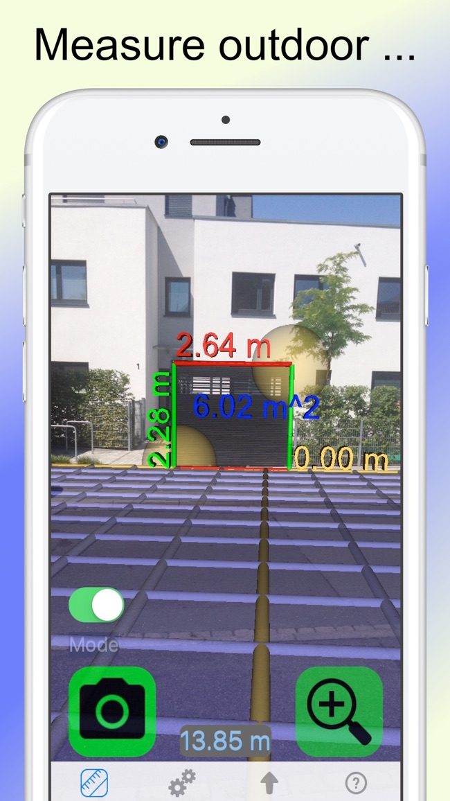 Camera Tape Measure Ruler 3D Screenshot