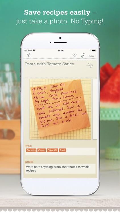 OrganizEat - Recipe Organizer screenshot-0