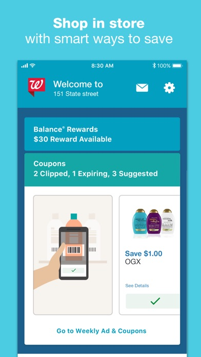Walgreens review screenshots