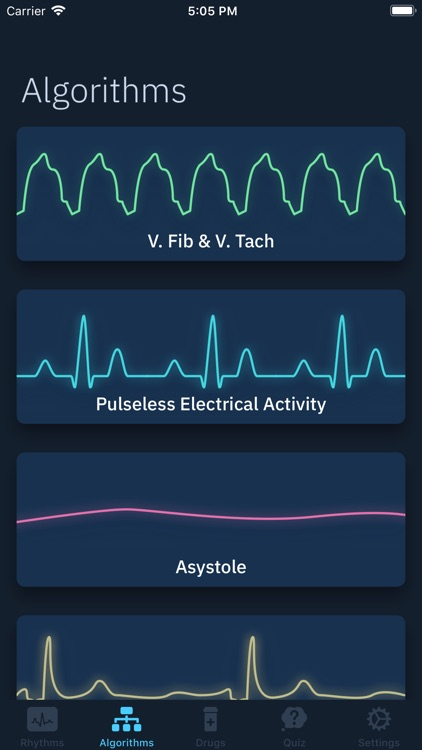 ACLS Rhythms and Quiz screenshot-0