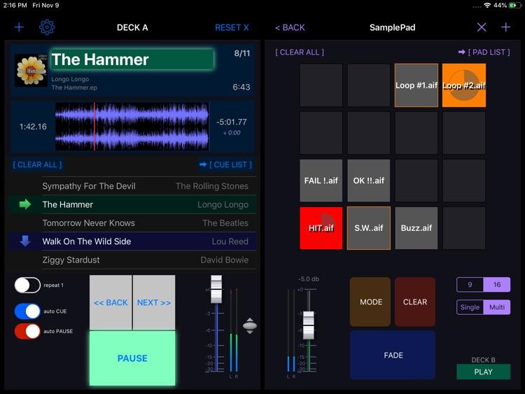 PlayBacker for iPad screenshot-3