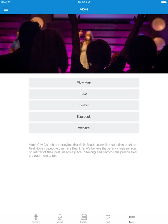 Hope City Church Louisville screenshot 6