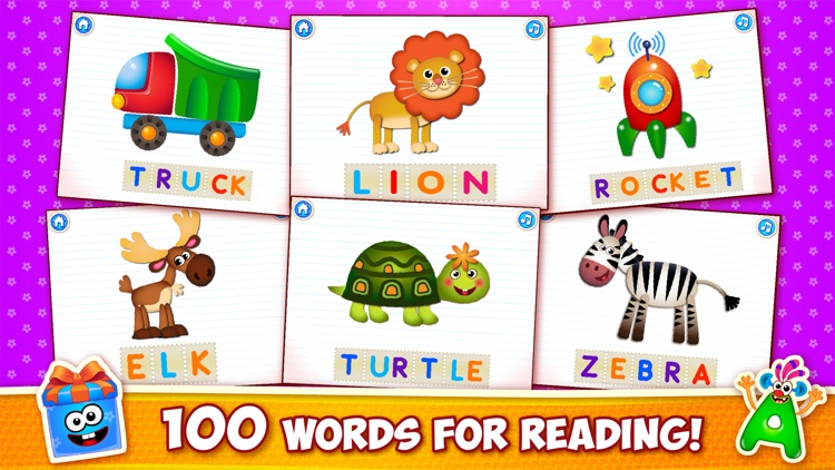 ABC for kids Alphabet games to screenshot-4
