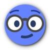 青い顔文字 • Stickers