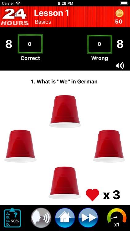 In 24 Hours Learn German screenshot-5