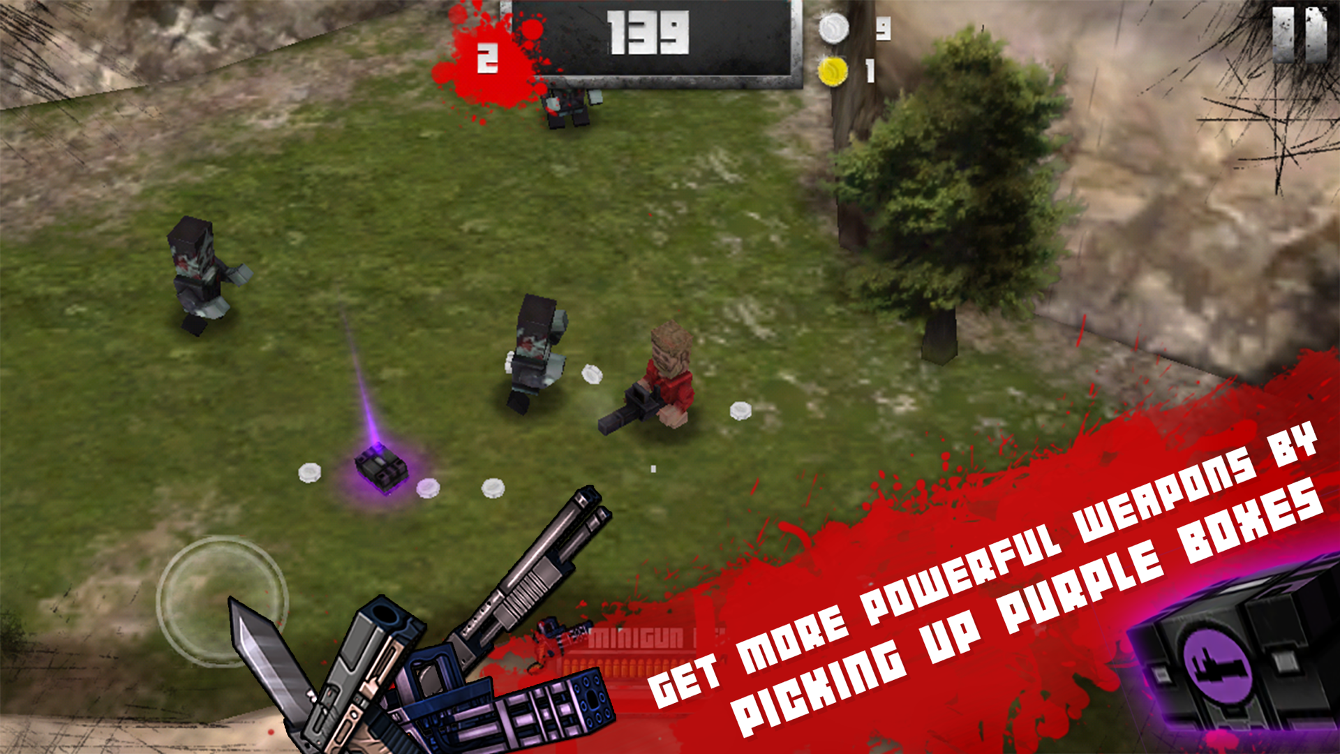 Boxhead: The Zombie Wars 3D screenshot 9