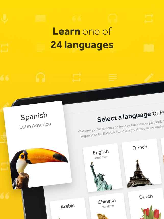Rosetta Stone Learn Languages On The App Store