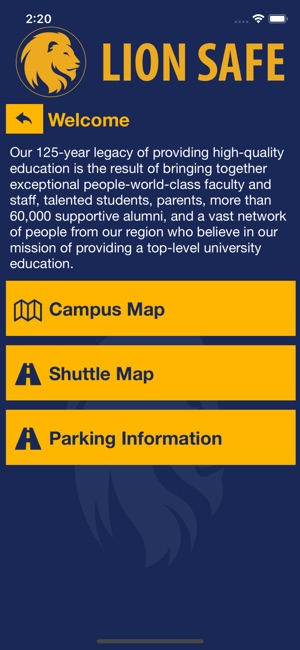 Am Commerce Campus Map.Lion Safe On The App Store