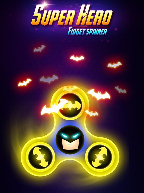 SuperHeroes Fidget Spinner screenshot #5