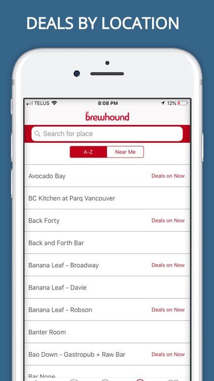brewhound - The Happy Hour App screenshot-5