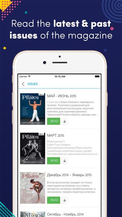 Pilates journal