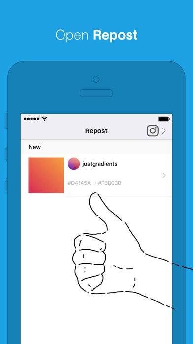 Download Repost for Instagram for Pc