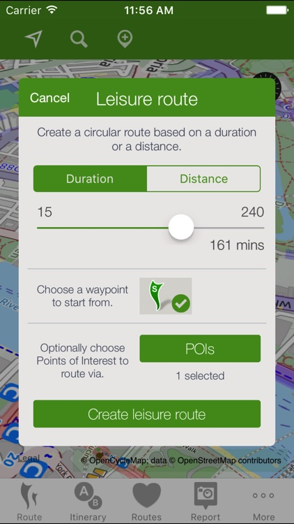 CycleStreets journey planner