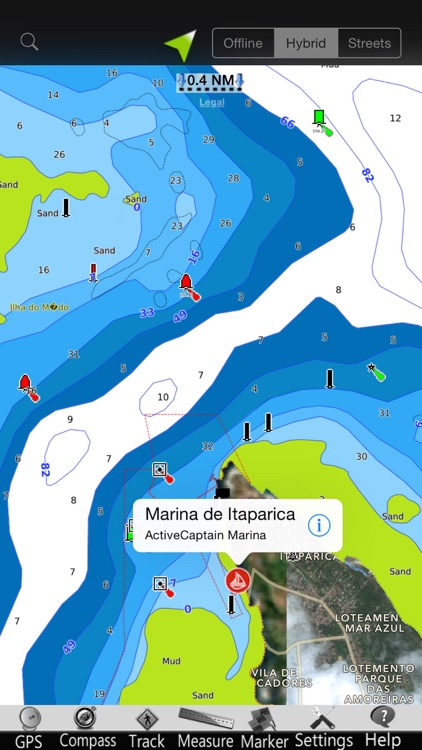 Brasil GPS Nautical Charts screenshot-1