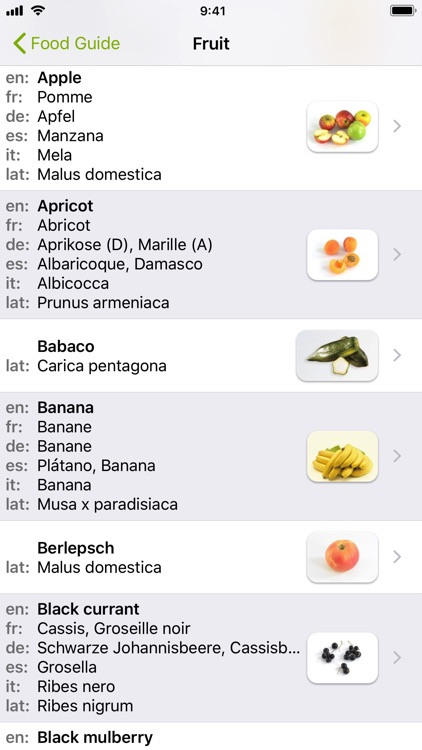 Food Guide screenshot-3