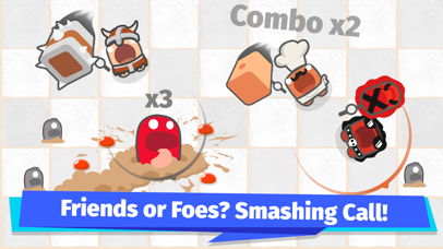Smashers.io Foes in Worms Land screenshot 4