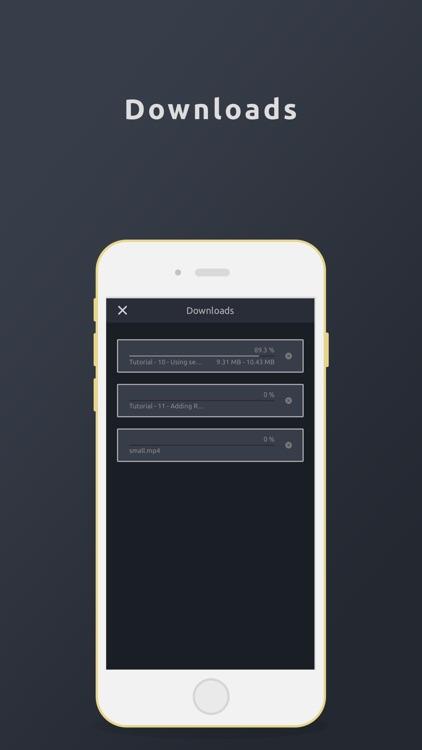 Video Player, Manager & Saver screenshot-4