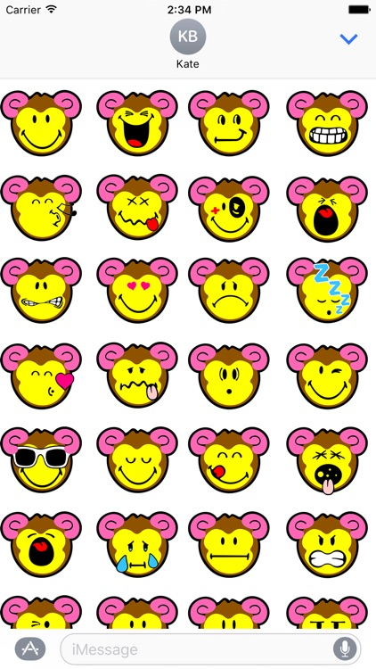 Smiley Monkeys