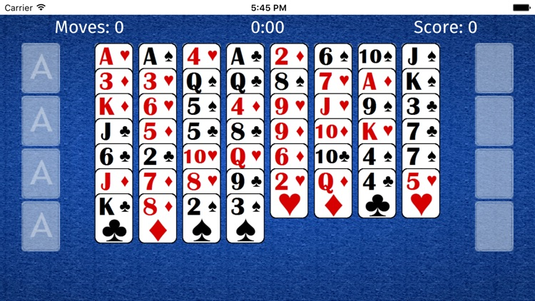 FreeCell ++ Solitaire Cards screenshot-4