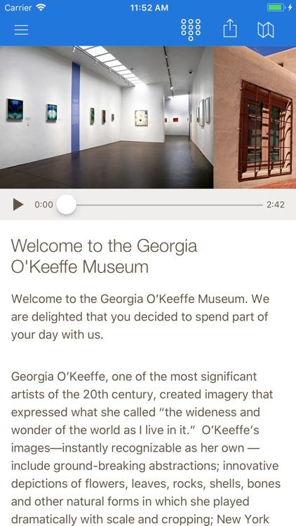 O'Keeffe Museum Tours screenshot-3