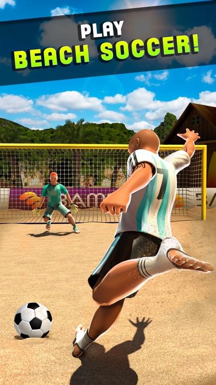 Shoot 2 Goal - Beach Soccer