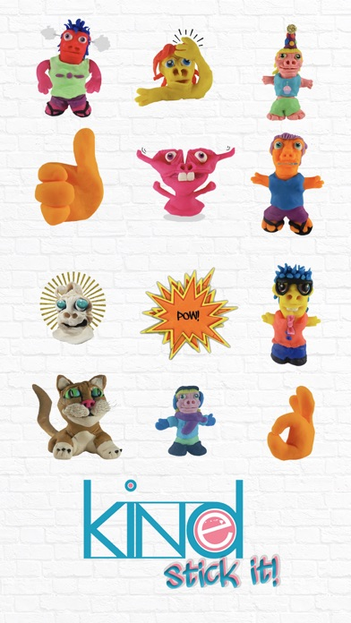 Holla Hattie Stickers Screenshot on iOS