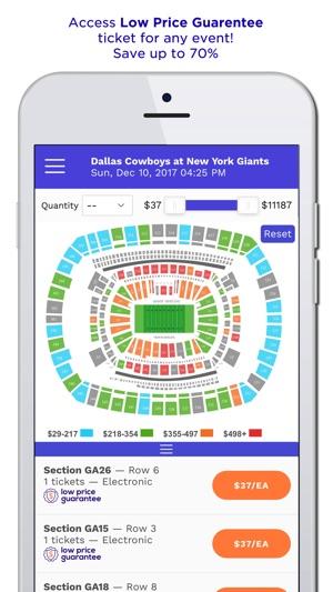 TicketIQ | Low Price Guarantee on the App Store
