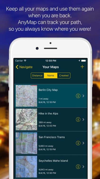 AnyMap TRUE Offline Navigation screenshot-3
