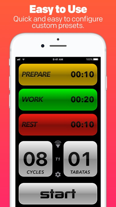Tabata Pro Hiit Interval Timer review screenshots