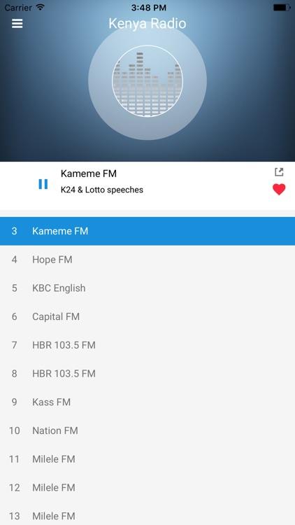 Kenya Radio Station: Online FM screenshot-3