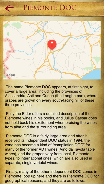 Italian Wine Guide iPhone screenshot-2