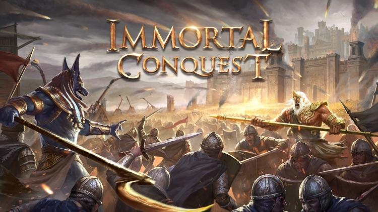 Immortal Conquest-War Strategy screenshot-0