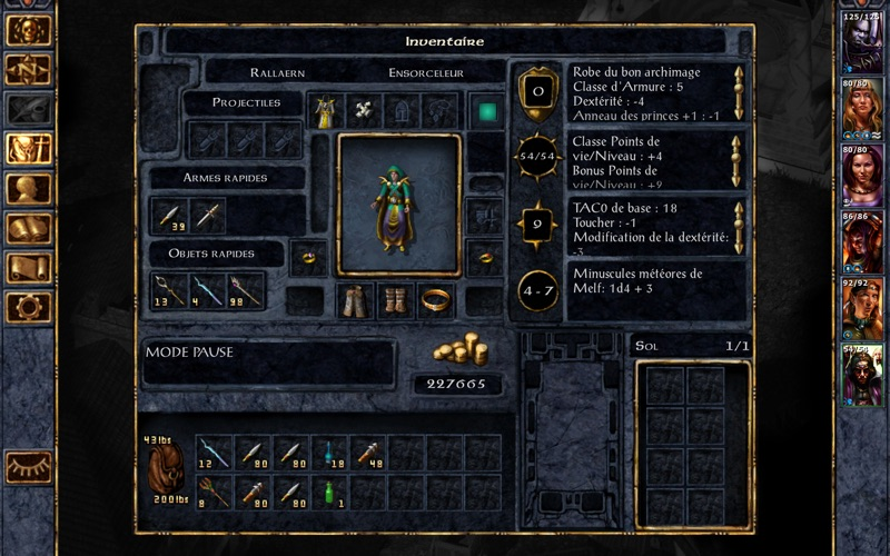 Screenshot #3 pour Baldur's Gate