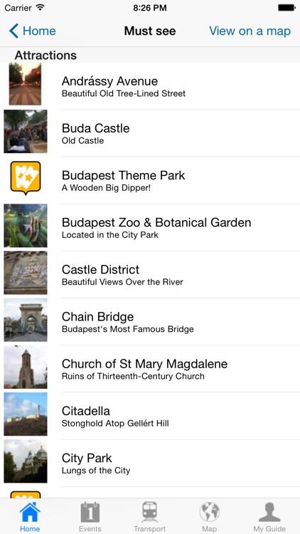 Budapest Travel Guide Offline screenshot-3