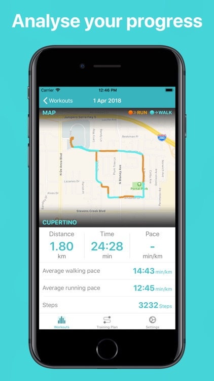 5K Run - Walk run tracker screenshot-3