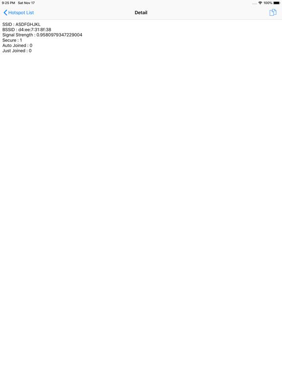 BSSID SCANのおすすめ画像4