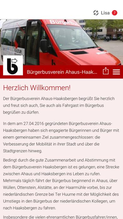 Bürgerbus Ahaus-Haaksbergen screenshot 1