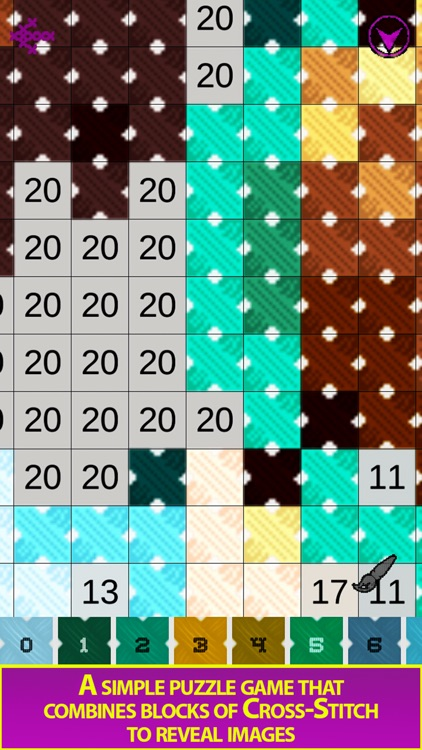 Cross Stitch - Color by Number screenshot-3